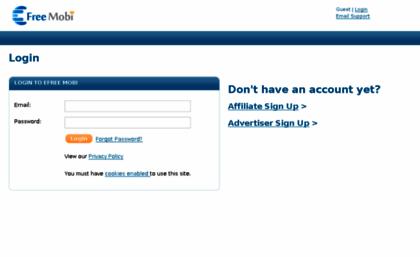 Aff member login