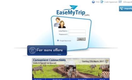 Agents easemytrip com website  EaseMyTrip: B2B Login For Travel Agent