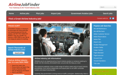 airline industry jobs