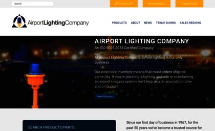 Airportlightingcompany com website  Airport Lighting Company