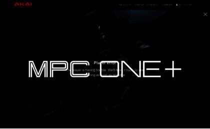 Akaipro com website  AKAI Professional | Advanced Production