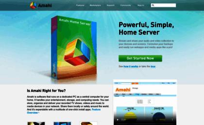 Amahi com website  Amahi Home Server - Making Home Networking Simple