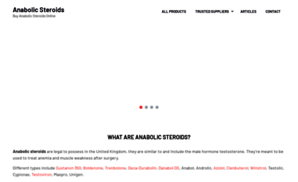Anabolicsteroids biz website  Anabolic Steroids Top Sites