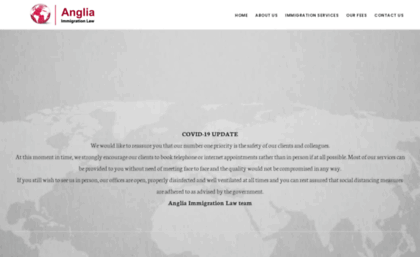 Angliaimmigration co uk website  Immigration Services & UK