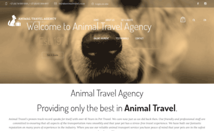 animaltravel.co.za