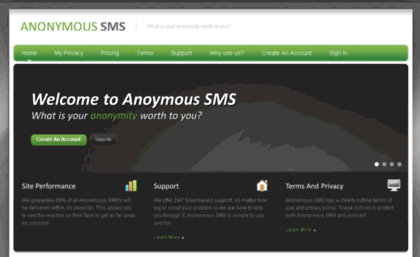 Anonymoussms ca website  Anonymous SMS- 100% anonymous text messages