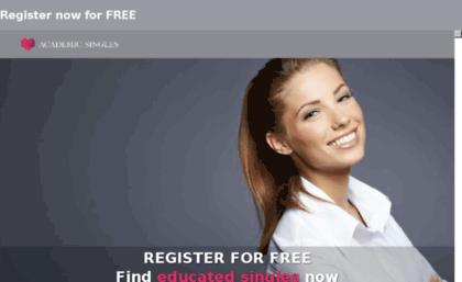 Academic singles dating site