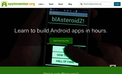Appinventor org website  Learn to build Android apps