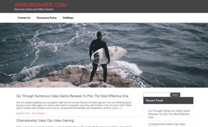Armorgamer com website  Armor Games Unblocked