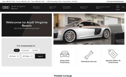 Audicheckeredflagcom Website Checkered Flag Audi Audi Norfolk - Checkered flag audi