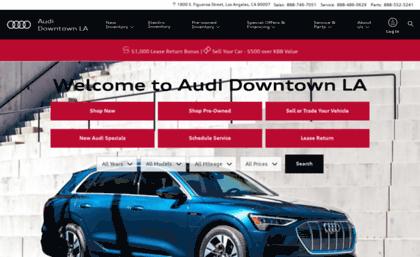 audidtla website. new and used audi dealer los angeles | audi