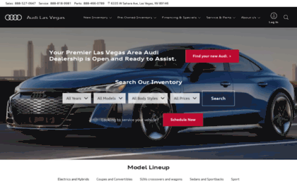 Audilasvegascom Website Audi Las Vegas Audi Dealership In Las - Audi las vegas