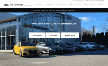 Audiofsmithtowncom Website New Audi PreOwned Luxury - Audi smithtown