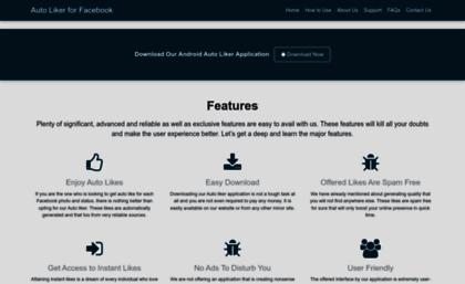 Autolikerforfb com website  Facebook Auto Liker - Auto Like