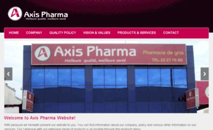 Axispharma net website