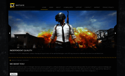 Battleye com website  BattlEye – The Anti-Cheat Gold Standard
