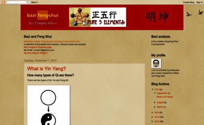 Bazifenshui blogspot sg website  Bazi Fengshui