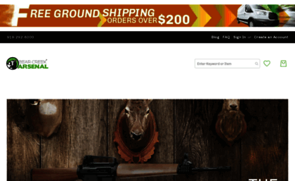 Bearcreekarsenal com website  Bear Creek Arsenal: Factory