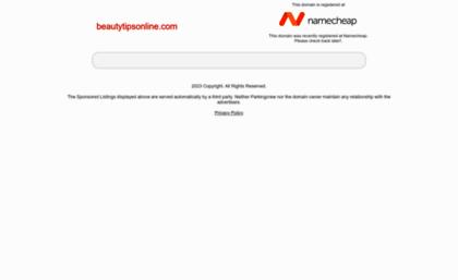 Beautytipsonline com website  Beauty Tips Online