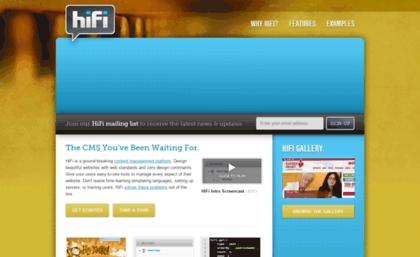 Benenson gethifi com website  HiFi - Hosted Content