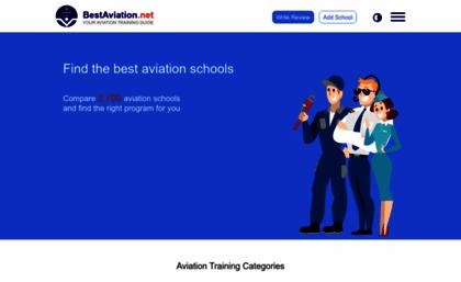 Bestaviation net website  Best Aviation Schools - Compare