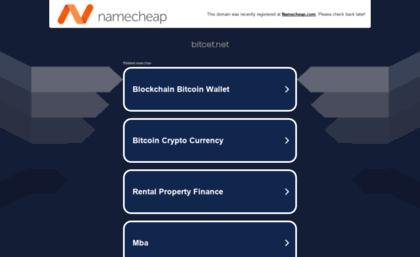 Bitcet net website  Bitcet - Free Bitcoin Faucet