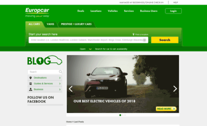 Blog Europcar Co Uk Website Europcar Blog Uk Europcar Blog Uk