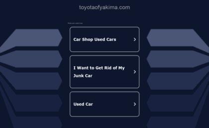 Bud Clary Toyota >> Blog Toyotaofyakima Com Website Toyota Dealer Union Gap Wa