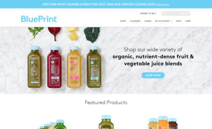 Blueprintcleanse website organic juice programs blueprint blueprintcleanse malvernweather Image collections