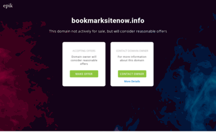 bookmarksitenow.info