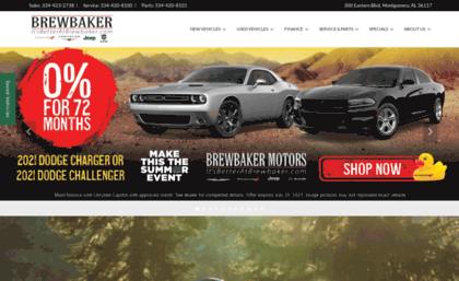 Brewbakerdodgechryslerjeep Com Website New Used Ram Jeep Dodge