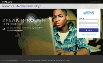 mylabsplus broward college