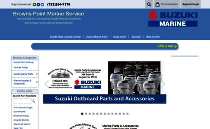 Brownspoint com website  Suzuki Outboard Parts & Accessories