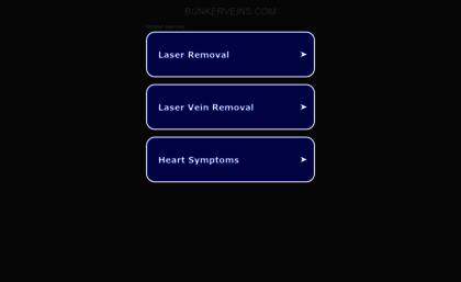 Bunkerveins.com website. Bunker Veins - Varicose and Spider Veins ...