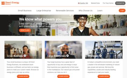 Business directenergy com website  Commercial Energy Solutions