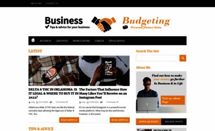 businessnbudgeting com website business budgeting the business
