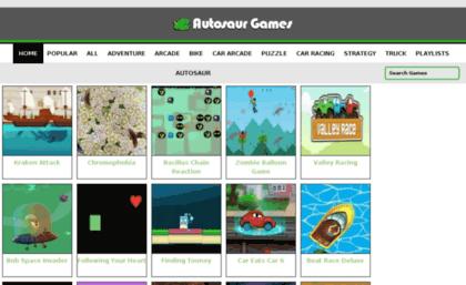 Cargames Autosaur Com Website Car Games