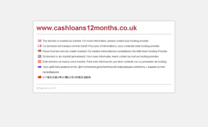 cashloans12months.co.uk