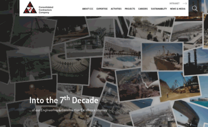 Ccc me website  Consolidated Contractors Company