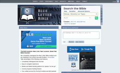 Ccii org website  Bible Search and Study Tools - Blue Letter