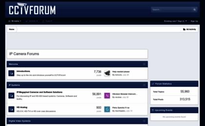 Cctvforum com website  IP Camera Forums - CCTVForum com