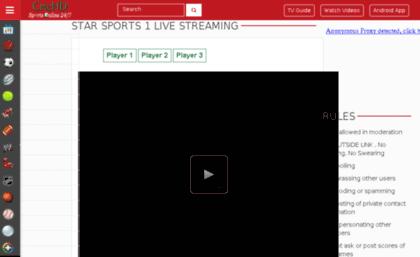 crichd live Cdn1.crichd.com website. Star Sports 1 Live Streaming - Live Cricket ...