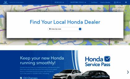 Honda Dealership Columbus Ohio >> Centralohiohondadealers Com Website Central Ohio Honda