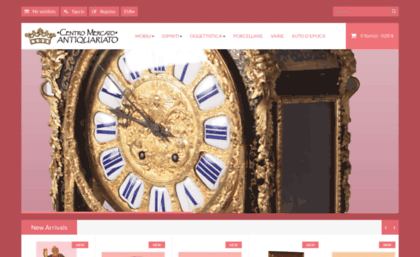 Centromercatoantiquariato.it website. Centro Mercato Antiquariato ...