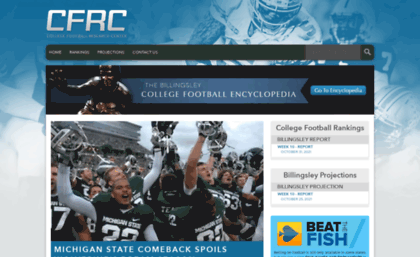 college football websites