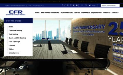 Cfrdirect Com Website New Used Office Furniture Nj