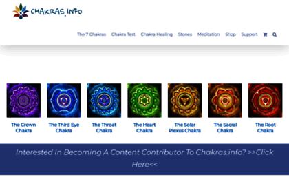 Chakras info website  Guide To The Chakras For Beginners And Healing