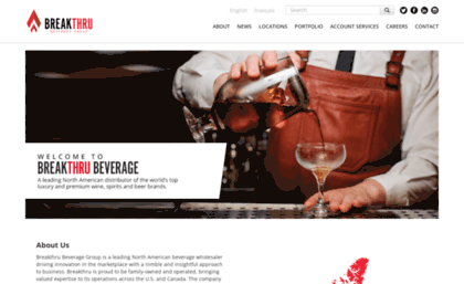 Charmer-sunbelt com website  Breakthru Beverage Group