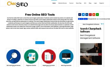 free seo tools plagiarism checker