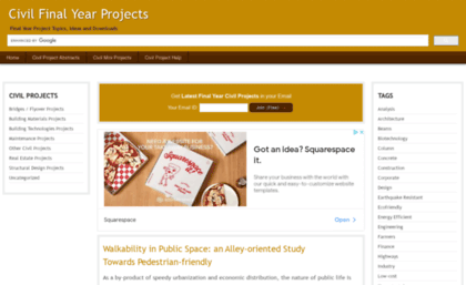 Civil final-year-projects in website  Civil Final Year